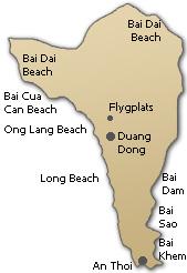 island karta avstånd